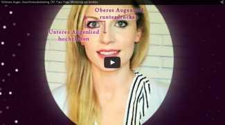 Face Yoga gegen Augenfalten
